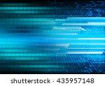dark blue color light abstract...   Shutterstock . vector #435957148