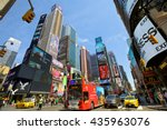 new york city   may 09  cars ... | Shutterstock . vector #435963076
