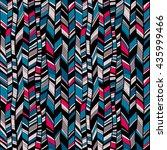 vector seamless pattern of... | Shutterstock .eps vector #435999466