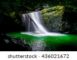 natural bridge springbrook gold ... | Shutterstock . vector #436021672