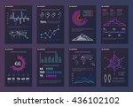 infographics  brochures vector... | Shutterstock .eps vector #436102102