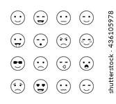 smileys | Shutterstock .eps vector #436105978