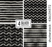 set of seamless pattern of...   Shutterstock .eps vector #436154572