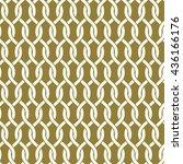 vector seamless pattern ... | Shutterstock .eps vector #436166176