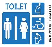 restroom bathroom   Shutterstock .eps vector #436185655