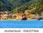 monterosso  italy   may 5  2016 ... | Shutterstock . vector #436227466