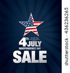 fourth of july independence day | Shutterstock .eps vector #436236265