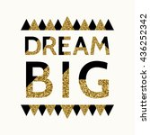 """dream big""   motivational... 