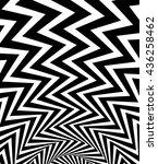 wavy  waving   zigzag radial... | Shutterstock .eps vector #436258462