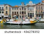 aveiro  portugal   aug 21 ... | Shutterstock . vector #436278352