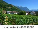 vaduz  liechtenstein   june 30  ... | Shutterstock . vector #436293805