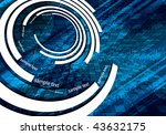 abstract vector background | Shutterstock .eps vector #43632175