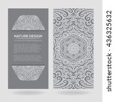 vector nature decor for your... | Shutterstock .eps vector #436325632