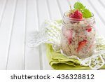 quinoa porridge with coconut... | Shutterstock . vector #436328812