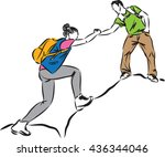 402 free clipart helping hands | Public domain vectors