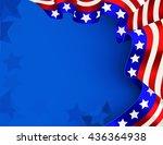 us flag background   Shutterstock .eps vector #436364938