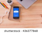 chiangmai  thailand  june 11 ... | Shutterstock . vector #436377868
