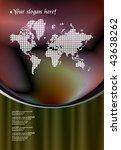 world background   Shutterstock .eps vector #43638262