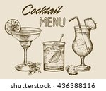 cocktail menu design background....