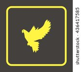 dove of peace. | Shutterstock . vector #436417585