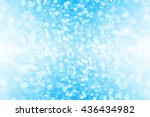 Abstract Blue Glitter Sparkle...