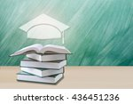 education concept graduation... | Shutterstock . vector #436451236