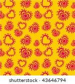 romantic seamless pattern   Shutterstock .eps vector #43646794
