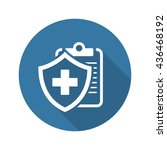 medical insurance icon with... | Shutterstock . vector #436468192