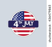 independence day | Shutterstock .eps vector #436479865
