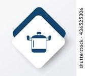pot icon | Shutterstock .eps vector #436525306