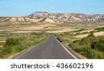 Road Through Bardenas Reales...