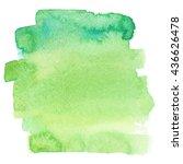 water color background.... | Shutterstock . vector #436626478