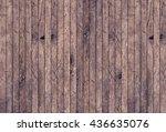 Vintage Aged Red Brown Wooden...