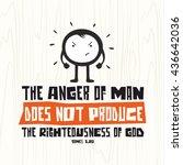 biblical illustration.... | Shutterstock .eps vector #436642036