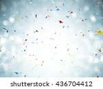 3d Rendering Confetti Explosio...