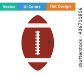 american football ball icon....