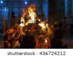 blurred image   for the death... | Shutterstock . vector #436724212