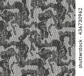 abstract charcoal camouflage... | Shutterstock .eps vector #436730962