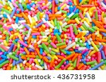 Colorful Sweet Background With...