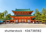 otenmon  the main gate of heian ... | Shutterstock . vector #436738582
