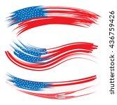three mnemonics with united... | Shutterstock . vector #436759426