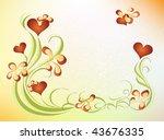 valentines day design eps 10 | Shutterstock .eps vector #43676335