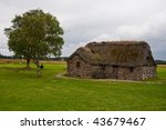 Old Leanach Cottage On The...