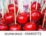 Sweet Glazed Red Toffee Candy...