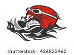 hog biker wear helmets | Shutterstock .eps vector #436822462