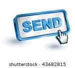 send internet icon | Shutterstock .eps vector #43682815
