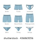 Male Underwear Types Flat...