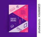 minimalistic design. simple...   Shutterstock .eps vector #436888855