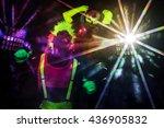 Sexy Couple Disco Party Dancer...