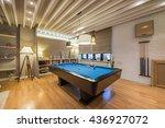 interior of a luxury living... | Shutterstock . vector #436927072